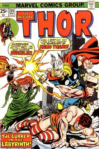Cover for Thor (Marvel, 1966 series) #235 [Regular Edition]