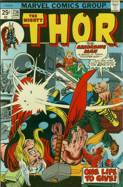 Cover for Thor (Marvel, 1966 series) #236 [Regular Edition]