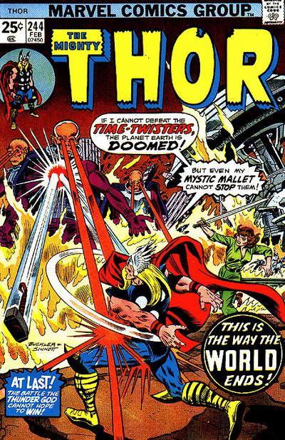 Cover for Thor (Marvel, 1966 series) #244 [Regular Edition]