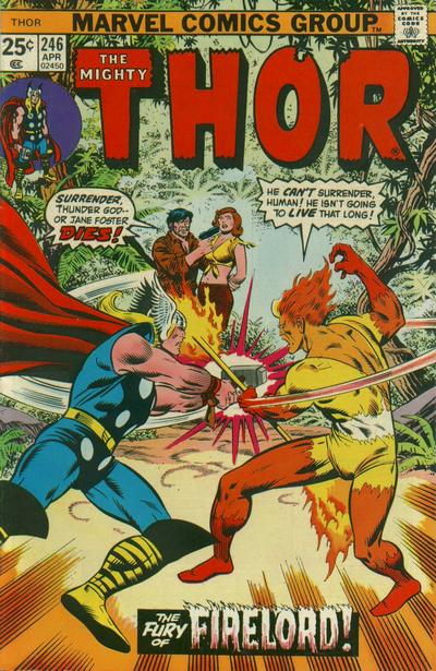 Cover for Thor (1966 series) #246