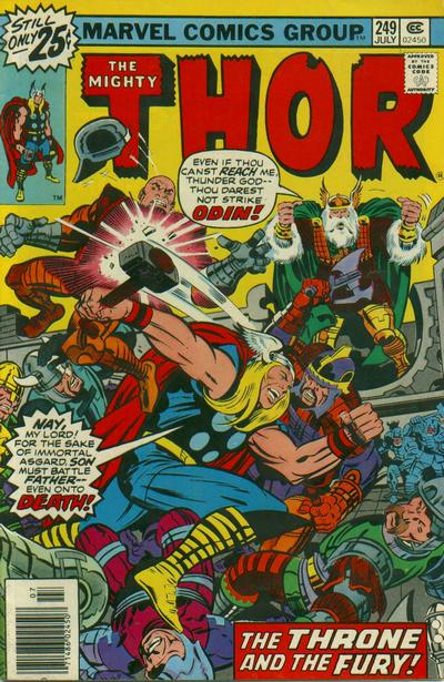 Cover for Thor (Marvel, 1966 series) #249