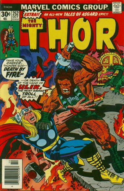 Cover for Thor (Marvel, 1966 series) #252 [Regular Edition]