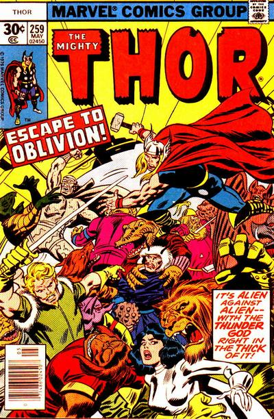 Cover for Thor (Marvel, 1966 series) #259 [Regular Edition]