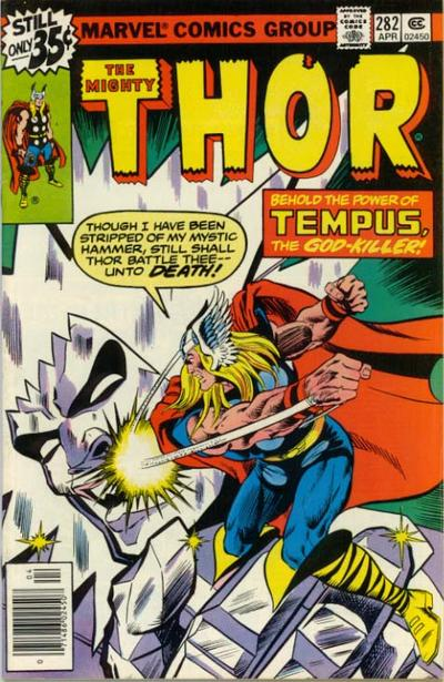 Cover for Thor (1966 series) #282