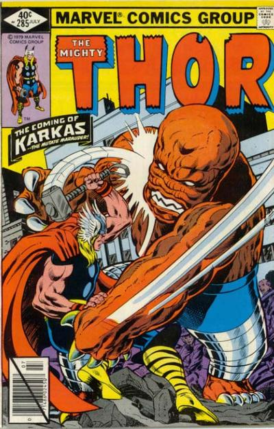 Cover for Thor (Marvel, 1966 series) #285 [Direct Edition]