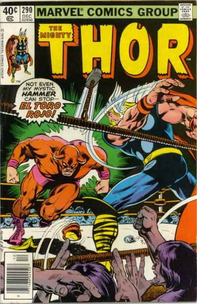 Cover for Thor (1966 series) #290