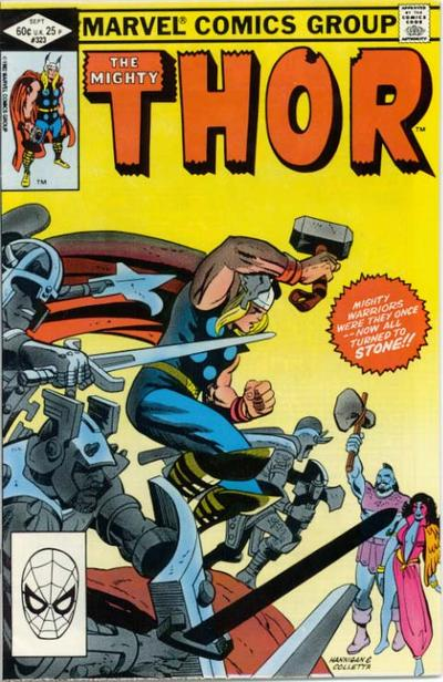 Cover for Thor (Marvel, 1966 series) #323 [Direct]