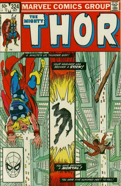 Cover for Thor (Marvel, 1966 series) #324 [Direct]