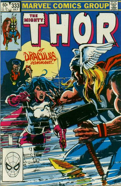 Cover for Thor (1966 series) #333