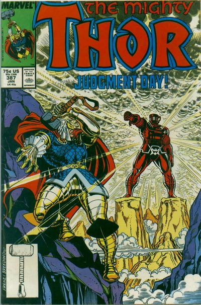 Cover for Thor (Marvel, 1966 series) #387