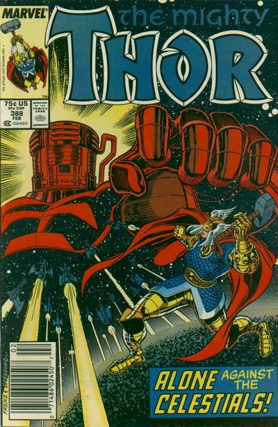 Cover for Thor (Marvel, 1966 series) #388