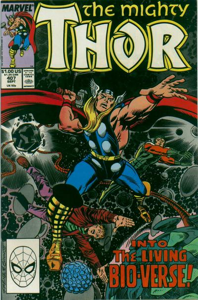 Cover for Thor (Marvel, 1966 series) #407