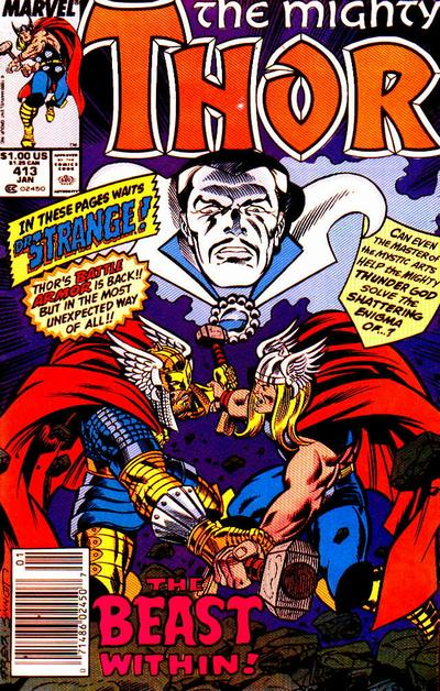 Cover for Thor (1966 series) #413