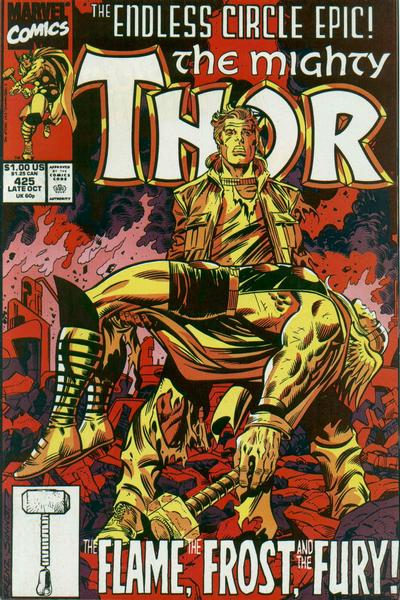 Cover for Thor (Marvel, 1966 series) #425