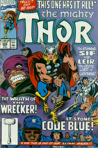 Cover for Thor (1966 series) #426