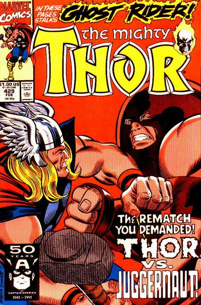 Cover for Thor (Marvel, 1966 series) #429 [Direct]