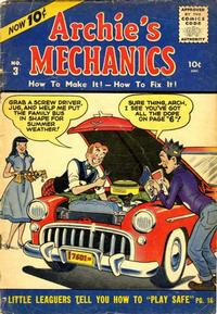 Cover Thumbnail for Archie's Mechanics (Archie, 1954 series) #3