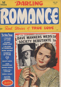 Cover for Darling Romance (1949 series) #3