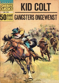 Cover Thumbnail for Sheriff Classics (Classics/Williams, 1964 series) #931
