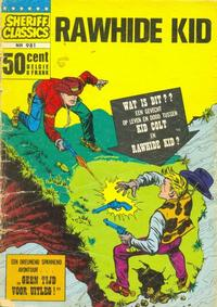 Cover Thumbnail for Sheriff Classics (Classics/Williams, 1964 series) #981