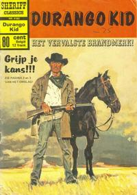 Cover Thumbnail for Sheriff Classics (Classics/Williams, 1964 series) #9183
