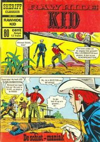 Cover Thumbnail for Sheriff Classics (Classics/Williams, 1964 series) #9187