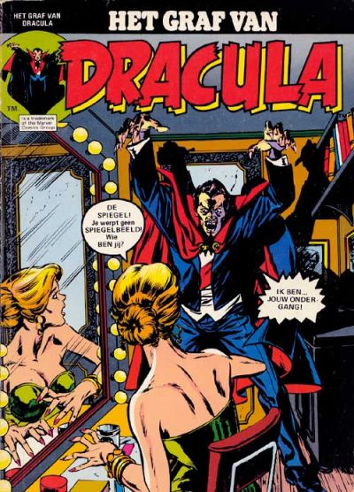 Cover for Het graf van Dracula (Classics/Williams, 1975 series) #3