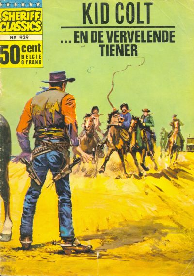 Cover for Sheriff Classics (Classics/Williams, 1964 series) #929