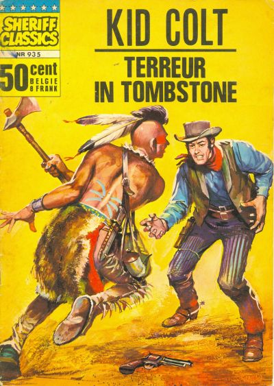 Cover for Sheriff Classics (Classics/Williams, 1964 series) #935