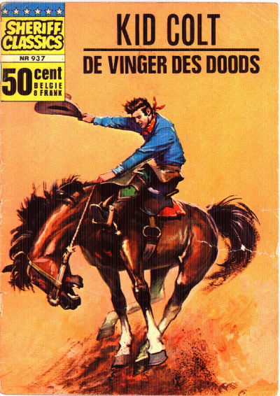 Cover for Sheriff Classics (Classics/Williams, 1964 series) #937