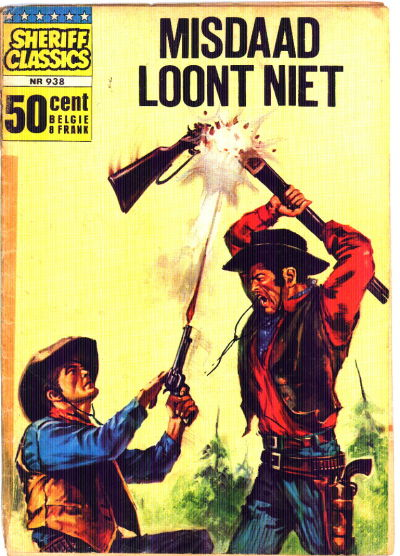 Cover for Sheriff Classics (Classics/Williams, 1964 series) #938