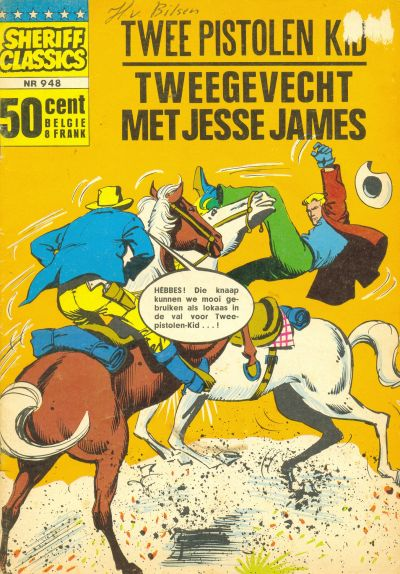 Cover for Sheriff Classics (Classics/Williams, 1964 series) #948