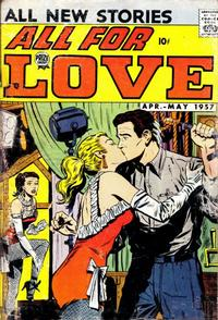 Cover Thumbnail for All for Love (Prize, 1957 series) #v1#1 [1]