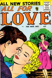 Cover Thumbnail for All for Love (Prize, 1957 series) #v2#5 [12]