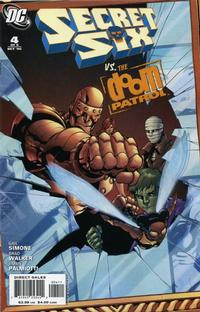 Cover Thumbnail for Secret Six (DC, 2006 series) #4