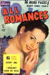 Cover for All Romances (Ace Magazines, 1949 series) #4