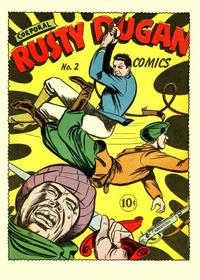 Cover Thumbnail for Corporal Rusty Dugan Comics (Holyoke, 1944 series) #2