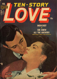 Cover Thumbnail for Ten-Story Love (Ace Magazines, 1951 series) #v31#1 [187]