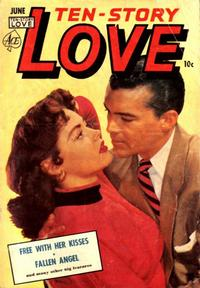 Cover Thumbnail for Ten-Story Love (Ace Magazines, 1951 series) #v32#3 [189]