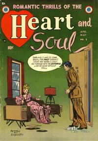 Cover Thumbnail for Heart and Soul (Mikeross Publications, 1954 series) #1