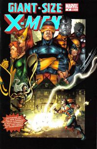 Cover for Giant-Size X-Men (Marvel, 2005 series) #4