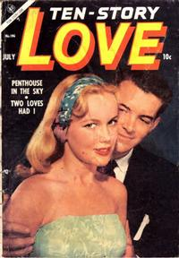 Cover Thumbnail for Ten-Story Love (Ace Magazines, 1951 series) #v34#4 / 196