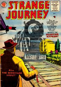 Cover Thumbnail for Strange Journey (Farrell, 1957 series) #1