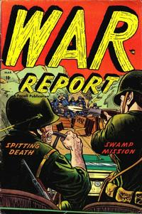 Cover Thumbnail for War Report (Farrell, 1952 series) #4