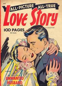 Cover Thumbnail for All Picture All True Love Story (St. John, 1952 series) #2