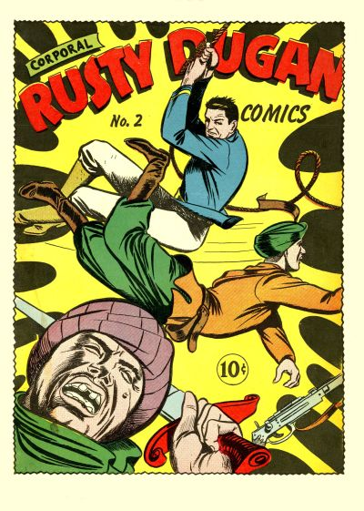 Cover for Corporal Rusty Dugan Comics (Holyoke, 1944 series) #2