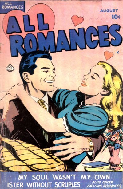 Cover for All Romances (Ace Magazines, 1949 series) #1