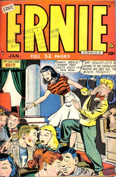 Cover for Ernie Comics (1948 series) #24