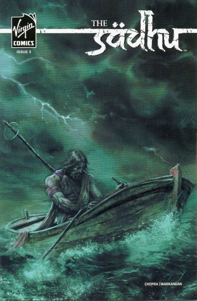 Cover for The Sadhu (Virgin, 2006 series) #5