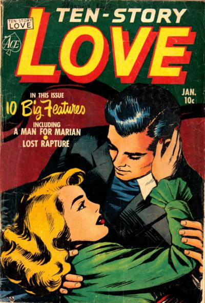 Cover for Ten-Story Love (Ace Magazines, 1951 series) #v29#6 [180]